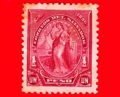 EL SALVADOR - Usato - 1896 - Serie Pace - Peace - 1 P. - El Salvador