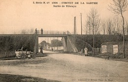 Circuit De La Sarthe, 1906 - Sortie De Vibraye - Sport Automobile