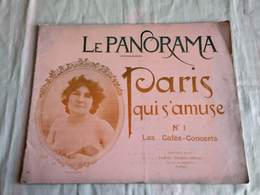 Le Panorama - PARIS QUI S'AMUSE :LES CAFES CONCERTS N°1. - Art