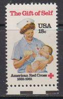USA 1981 The Gift Of Self / Red Cross 1v ** Mnh (41802) - Verenigde Staten