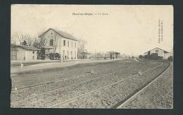 Béssé Sur Braye - La Gare , Carte Avec Défauts Voir Scan      Gal41 - Autres Communes