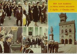 CPM Saint Marin, La Prima Dona Reggente - Saint-Marin