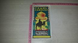 SCO-8266 CASORIA SOC. DI PRISCO & C. MANUFACTURED CAMEL CANDLES - Objets Publicitaires