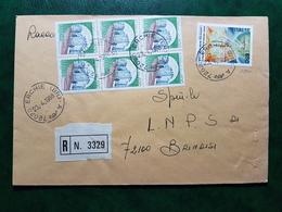 (16678) STORIA POSTALE ITALIA 1988 - 6. 1946-.. Repubblica