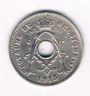 5 CENTIMES 1913 FR  BELGIE/1142/ - 1909-1934: Albert I