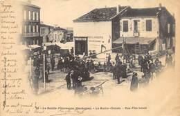 CPA 24 LA ROCHE CHALAIS UNE FETE LOCALE  1903 - France
