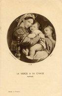 Santino Antico LA VIERGE A LA CHAISE (Raphael) - OTTIMO P91 - Religione & Esoterismo