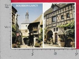 CARTOLINA VG FRANCIA - BOURBON LANCY - Le Beffroi Maison A Colombages - 10 X 15 - ANN. 1989 - Francia