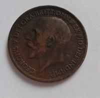 ONE PENNY GEORGES V GRANDE BRETAGNE 1917 (B7 - 27) - 1902-1971 : Monnaies Post-Victoriennes