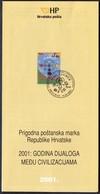 Croatia 2001 / Year Of Dialogue Among Civilizations / Prospectus, Leaflet, Brochure - Croatie