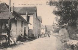 Carte Postale Ancienne De La Savoie - Novalaise - Les Ecoles - France