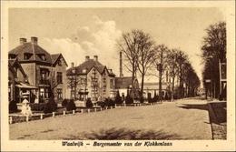 Cp Waalwijk Nordbrabant Niederlande, Burgemeester Van Der Klokkenlaan - Non Classés