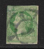 ESPAÑA. Edifil Nº 51 Usado Y Muy Defectuoso - 1850-68 Kingdom: Isabella II