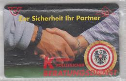 AUSTRIA 1996 KRIMINALPOLIZEILICHER BERATUNGSDIENST CRIMINAL POLICE USED PHONE CARD - Police