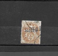 5  OBL  Y & T  Type Blanc  *Algérie Colonie Française*  16/49 - Oblitérés