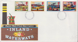 Great Britain Set On FDC - Factories & Industries