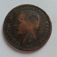 GRECE 10 LEPTA  1882 A  (B7 - 28) - 1902-1971 : Monnaies Post-Victoriennes