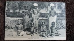CPA GRANDE EXPOSITION INDIA ED HOFFMANN DRESDEN  BEAU PLAN ENFANT GARCON SANS HABIT - Asie