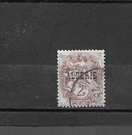 3  OBL  Y&T  Type Blanc  *Algérie Colonie Française*  16/49 - Algérie (1924-1962)