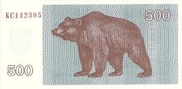 LITUANIE 500 TALONAS 1992 UNC P 44 - Lituanie