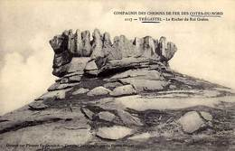 22  - TREGASTEL - Le Rocher Du Roi Gralon -  - - Trégastel