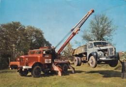 RUMILLY        GARAGE  CITROEN        CAMION GRUE  + CAMION BERLIET - Camions & Poids Lourds