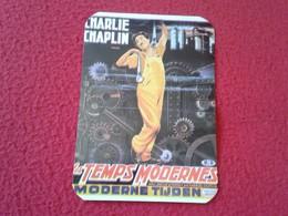 PORTUGAL CALENDARIO DE BOLSILLO CALENDAR CHARLES CHAPLIN CHARLOT CINE MUDO ACTOR ACTEUR FILM LES TEMPS MODERNES HUMOR VE - Calendarios
