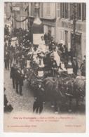 ° 10 ° BAR SUR SEINE ° Char D'ESSOYES ° Fête Du Champagne Le 4 Septembre 1921 ° Collection Bourgogne ° - Bar-sur-Seine