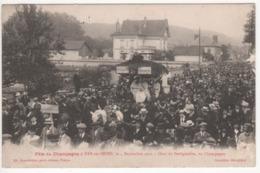 ° 10 ° BAR SUR SEINE ° Char De BERTIGNOLLES ° Fête Du Champagne Le 4 Septembre 1921 ° Collection Bourgogne ° - Bar-sur-Seine