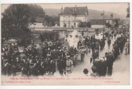 ° 10 ° BAR SUR SEINE ° Char De Balnot Sur Laignes ° Fête Du Champagne Le 4 Septembre 1921 ° Collection Bourgogne ° - Bar-sur-Seine