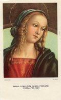 Arezzo - Santino MATER ADMIRABILIS Ufficio Diocesano Per Le Vocazioni Ecclesiastiche - OTTIMO P91 - Religione & Esoterismo
