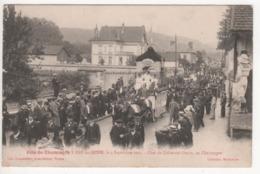 ° 10 ° BAR SUR SEINE ° Char De Celles Sur Ource ° Fête Du Champagne Le 4 Septembre 1921 ° Collection Bourgogne ° - Bar-sur-Seine