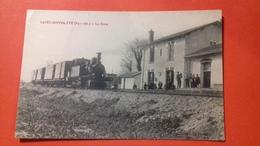 CPA 66 SAINT HIPPOLYTE LA GARE Train Venant Du Coté De Saint Laurent De La Salanque - Autres Communes