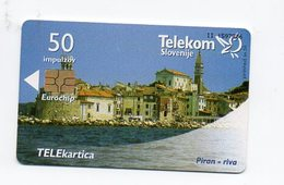 Telekom Slovenije 50 Impulzov - Piran - Riva - Slovenia