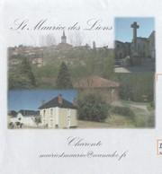 SAINT MAURICE DES LIONS CHARENTE - MAIRIE, VUE DU VILLAGE, CROIX - FLAMME CONFOLENS SON FESTIVAL 2008 - PAP A VOIR - Vacances & Tourisme