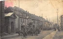 CPA 67 L ENTREE DES TROUPES FRANCAISES A WISCH WISCHES  LE 18 11 1918 - Frankreich