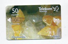 Telekom Slovenije 50 Impulzov - Wulfenit - Slovenia