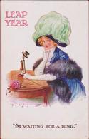 Girl Lady With Hat Belle Epoque Jugendstil Art Nouveau Illustrator Fred Spurgin Hoed Chapeau - Spurgin, Fred