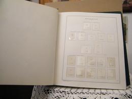 MONDOSORPRESA, ROMANIA FOGLI FRANCOBOLLI MARINI DAL 1921 AL 1981 IN 3 ALBUM USATI - LEGGI DESCRIZIONE - Boites A Timbres