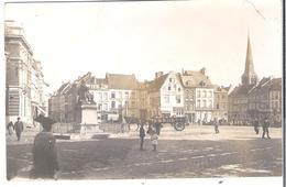 CARTE PHOTO BELGIQUE  WW1 ATH La Place .  Etat Avant 1914 Circulé En 1918 - Ath