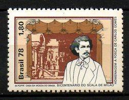 BRESIL. N°1305 De 1978. Compositeur Carlos Gomes. - Musique