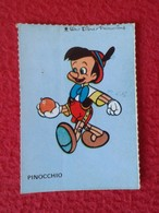 SPAIN ESPAGNE.ANTIGUO OLD CROMO ESTAMPA WALT DISNEY PRODUCTIONS COLLECTIBLE CARD CARICATURA CARTOON PINOCHO PINOCCHIO - Cromos