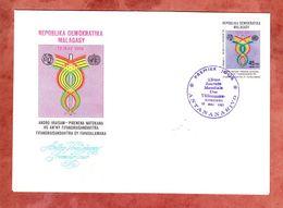 FDC, Weltfernmeldetag, Antananarivo 1981 (69505) - Madagaskar (1960-...)