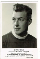 Luxembourg Charly Gaul .Champion Du Luxembourg 1956 - Cartes Postales