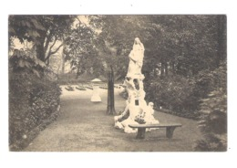 EDEGEM  - GROT VAN O.L.V. VAN LOURDES - BEELD VAN DE H. ANNA - 1927  (11.376) - Edegem