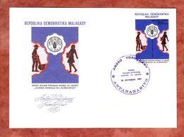 FDC, Welternaehrungstag, Antananarivo 1981 (69506) - Madagaskar (1960-...)