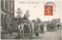 59 - Route D'Erquelinnes - La Douane Française . - Jeumont