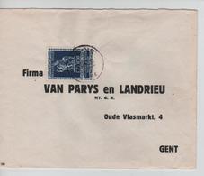 PR6308/ TP 609 Secours D'Hiver Surtaxe S/L. C.Gent 1943 V.E/V - Belgium