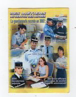 Jan19   84048   Petit Calendrier  Gendarmerie  2002 - Calendriers