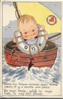 Dans Ma Barque Comme Dans Mon Coeur , Il Y A Encore Une Place , Illustrateur Henry - Dessins D'enfants